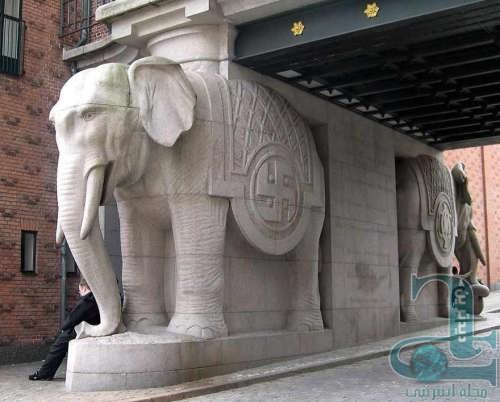مجسمه فیل | فنگ شویی ایران